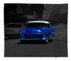 Chevy Bel Air Fleece Blanket