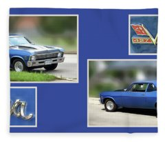 Chevy Nova Horizontal Fleece Blanket