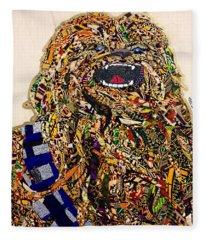 Chewbacca Star Wars Awakens Afrofuturist Collection Fleece Blanket