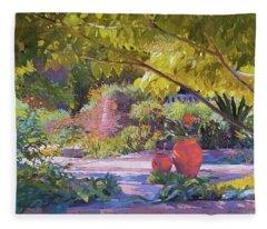 Chicago Botanic Garden Fleece Blanket