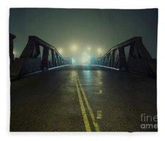 Chicago Fog Fleece Blanket
