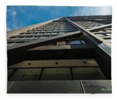 Chicago Structure Fleece Blanket