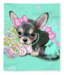 Chichi Sweetie Fleece Blanket