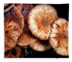 Chicken Of The Woods Fleece Blanket