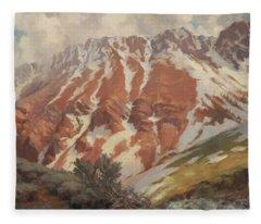 Chief Joseph Mountain Fleece Blanket