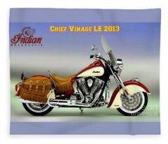 Chief Vintage Le 2013 Fleece Blanket