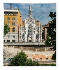 Chiesa Del Sacro Cuore Del Suffragio Fleece Blanket