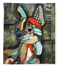 Chihuahua 2 Fleece Blanket