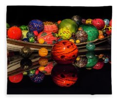 Chihuly Reflection Fleece Blanket