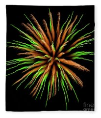 Chihuly Starburst Fleece Blanket