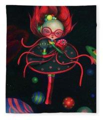 Child Of The Universe  Fleece Blanket