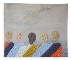 Children Of The World Fleece Blanket