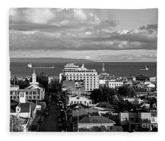 Chile_136-19 Fleece Blanket