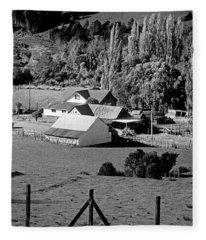 Chile_86-17 Fleece Blanket