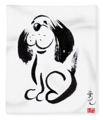 Chinese Zodiac For Year Of The Dog Fleece Blanket
