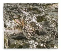 Chinook Salmon  Fleece Blanket