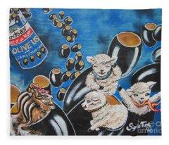 Flygende Lammet  Productions    Like It Or Not  Olive Us On Board  Fleece Blanket
