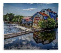 Chisolm's Mills Fleece Blanket