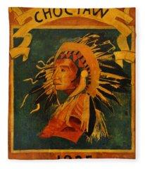 Choctaw 1935 Fleece Blanket