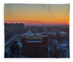 Choo Choo Fleece Blanket