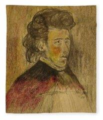 Chopin Fleece Blanket