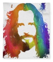 Chris Cornell Color Tribute Fleece Blanket