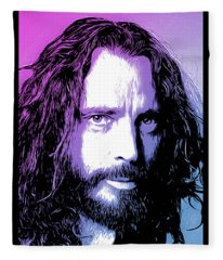 Chris Cornell Tribute Fleece Blanket