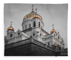 Christ The Savior Cathedral Fleece Blanket