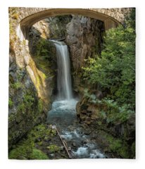 Christine Falls Fleece Blanket