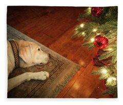 Christmas Dreams Fleece Blanket