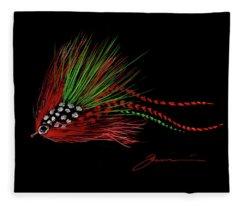 Christmas Fly Fleece Blanket