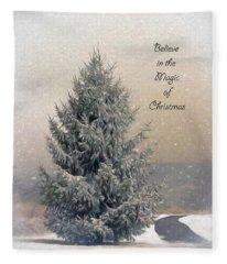 Christmas Magic Fleece Blanket