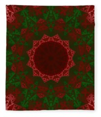 Christmas Quilt Fleece Blanket