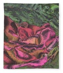 Chrome Rose 64182 Fleece Blanket