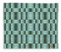 Chuarts Epic Illusion 1b2 Fleece Blanket