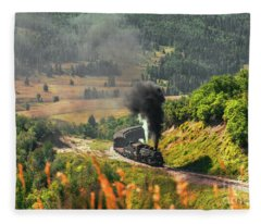Engine 484 Fleece Blanket