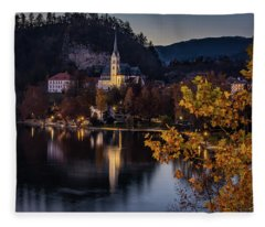 Church At Bleed Fleece Blanket