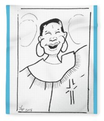Church Lady 2 Fleece Blanket