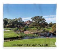 Cimarron Hills Fleece Blanket