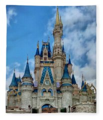 Cinderella Castle Fleece Blanket