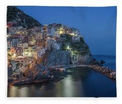 Cinque Terre - Manarola Fleece Blanket