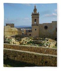 #citadella #malta Fleece Blanket