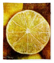 Citrus Fleece Blanket