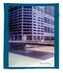 City Bridge Fleece Blanket