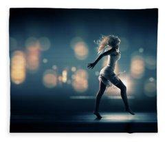 City Girl Fleece Blanket