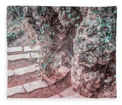 City Grotto Fleece Blanket