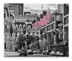 City Of Brotherly Love - Philadelphia Fleece Blanket