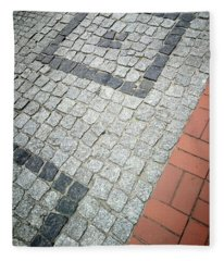 City Pavement Fleece Blanket