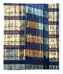 City Reflections 1 Fleece Blanket