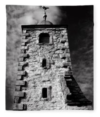 Clackmannan Tollbooth Tower Fleece Blanket